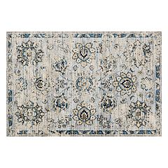 Loloi Torrance Distressed Blossom Rug