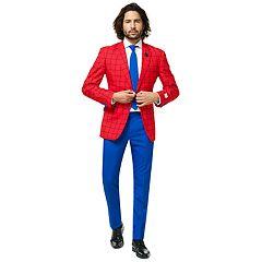 Men's OppoSuits Slim-Fit Spider-Man Suit & Tie Set