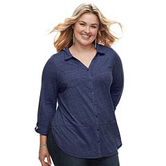 Plus Size SONOMA Goods for Life™ Utility Tunic