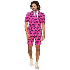 Men's OppoSuits Slim-Fit Tropicool Suit & Tie Set