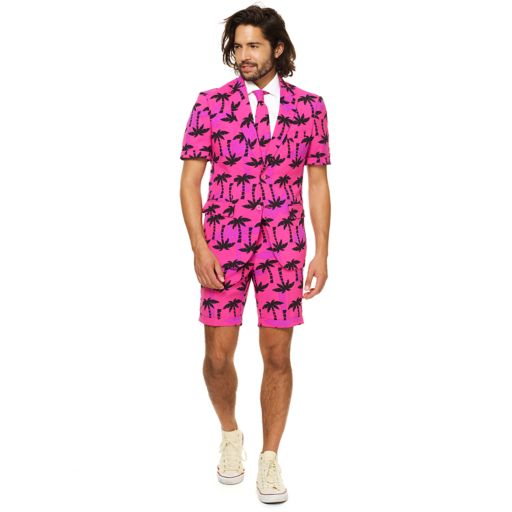 Men's OppoSuits Slim-Fit Tropicool Suit & Tie Set
