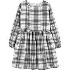 Baby Girl Carter's Plaid Lurex Dress