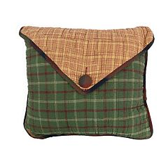 Donna Sharp Campfire Square Envelope Throw Pillow