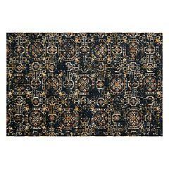 Loloi Torrance Navy Geometric Tile Rug