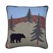 Donna Sharp Bear Lake Throw Pillow