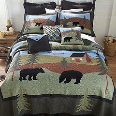Donna Sharp Bear Lake Quilt