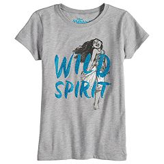 Disney's Moana Girls 7-16 'Wild Spirit' Graphic Tee