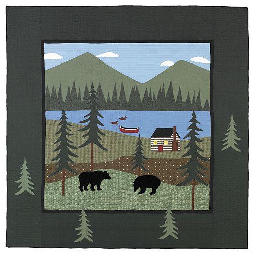 Donna Sharp Bear Lake Throw