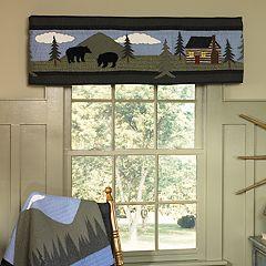 Donna Sharp Bear Lake Window Valance
