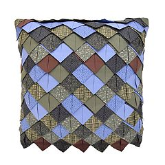 Donna Sharp Bear Lake Roof Tile Throw Pillow