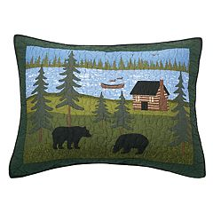 Donna Sharp Bear River Standard Sham