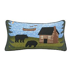 Donna Sharp Bear River Oblong Throw Pillow