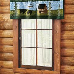 Donna Sharp Bear River Window Valance