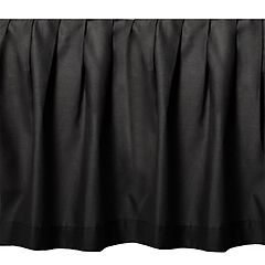 Donna Sharp Black Night Bedskirt