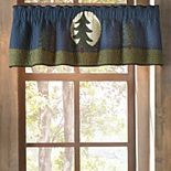 Donna Sharp Bear Dance Window Valance
