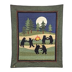 Donna Sharp Bear Dance Throw