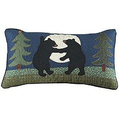Donna Sharp Bear Dance Oblong Throw Pillow