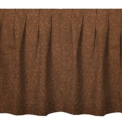 Donna Sharp Brown Moon Dot Bedskirt