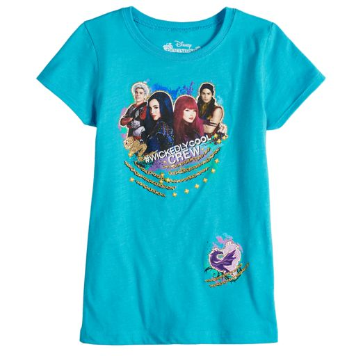 "Disney's Descendants Girls 7-16 ""Wickedly Cool"" Graphic Tee"