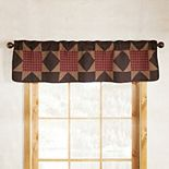 Donna Sharp Bear's Paw Window Valance