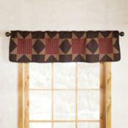 Donna Sharp Bear's Paw Window Valance