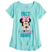 "Disney's Minnie Mouse Girls 7-16 ""Always Right"" Graphic Tee"