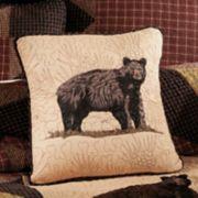 Donna Sharp Bear's Paw Bear Throw Pillow