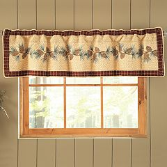 Donna Sharp Pine Lodge Window Valance