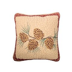 Donna Sharp Pine Lodge Pine Branch Throw Pillow