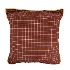 Donna Sharp Pine Lodge Plaid Euro Sham
