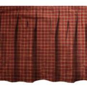 Donna Sharp Pine Lodge Plaid Queen Bedskirt