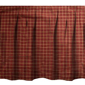 Donna Sharp Pine Lodge Plaid Queen Bedskirt