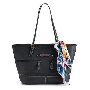 f63a351dbba Stone   Co. Large Pebble Leather Tote (Several Colors) from Kohls ...