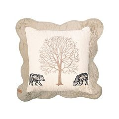 Donna Sharp Bear Creek Bears Throw Pillow