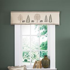 Donna Sharp Bear Creek Window Valance