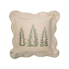 Donna Sharp Bear Creek Trees Throw Pillow
