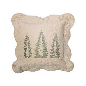 Donna Sharp Bear Creek Trees Throw Pillow