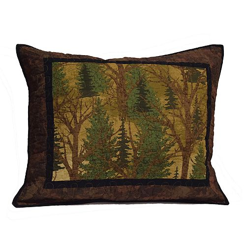 Donna Sharp Forest Trees Standard Sham