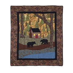 Donna Sharp The Little Cabin Throw