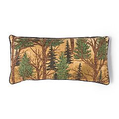 Donna Sharp Forest Trees Oblong Throw Pillow