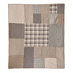 Donna Sharp Smoky Square Throw