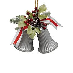 St. Nicholas Square® Metal Bell Christmas Ornament