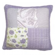 Donna Sharp Lavender Rose Throw Pillow