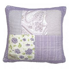 Donna Sharp Lavender Rose Throw Pillow