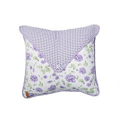 Donna Sharp Lavender Rose Envelope Throw Pillow