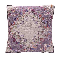 Donna Sharp Secret Garden Irish Chain Throw Pillow