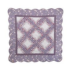 Donna Sharp Secret Garden Irish Chain Throw