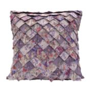 Donna Sharp Secret Garden Roof Tile Throw Pillow