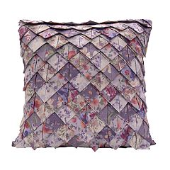 Donna Sharp Secret Garden Roof Tile Throw Pillow