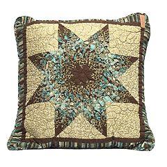 Donna Sharp Sea Breeze Star Throw Pillow